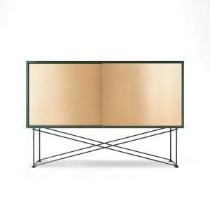 Decotique Vogue Sideboard Senkki 136h Vihreä / 2b / Musta