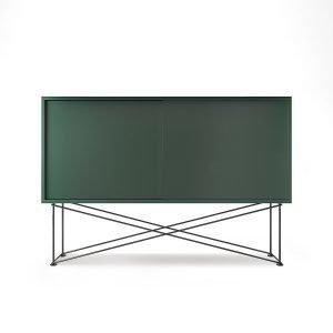 Decotique Vogue Sideboard Senkki 136h Vihreä / 2g / Musta