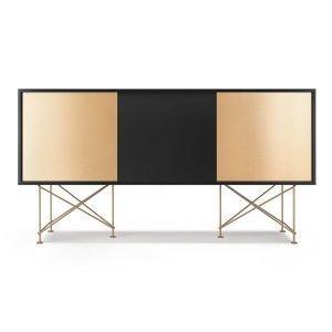 Decotique Vogue Sideboard Senkki 180h Antracit / 1a2b / Messinki