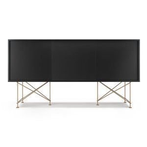 Decotique Vogue Sideboard Senkki 180h Antracit / 3a / Messinki
