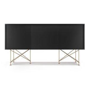 Decotique Vogue Sideboard Senkki 180h Antracit / 3a / Messinki