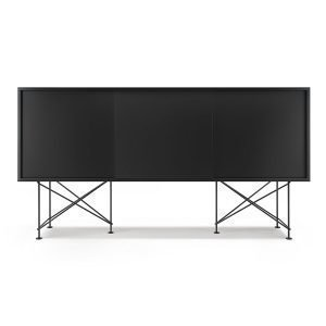 Decotique Vogue Sideboard Senkki 180h Antracit / 3a / Musta