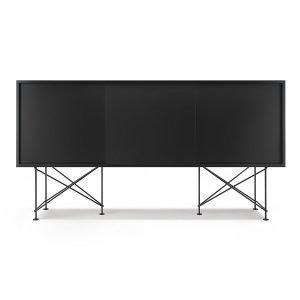 Decotique Vogue Sideboard Senkki 180h Antracit / 3a / Musta