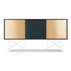 Decotique Vogue Sideboard Senkki 180h Harmaa / 1g2b / Valkoinen