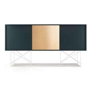 Decotique Vogue Sideboard Senkki 180h Harmaa / 2g1b / Valkoinen