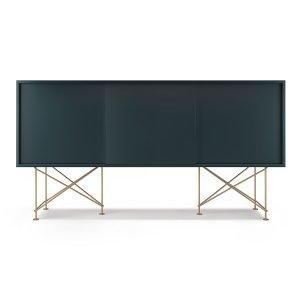 Decotique Vogue Sideboard Senkki 180h Harmaa / 3g / Messinki