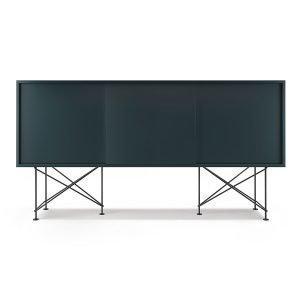 Decotique Vogue Sideboard Senkki 180h Harmaa / 3g / Musta