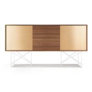 Decotique Vogue Sideboard Senkki 180h Saksanpähkinä / 1w2b / Valkoinen
