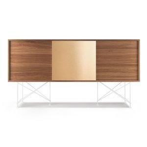 Decotique Vogue Sideboard Senkki 180h Saksanpähkinä / 2w1b / Valkoi