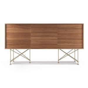 Decotique Vogue Sideboard Senkki 180h Saksanpähkinä / 3w / Messinki