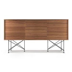 Decotique Vogue Sideboard Senkki 180h Saksanpähkinä / 3w / Musta