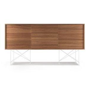 Decotique Vogue Sideboard Senkki 180h Saksanpähkinä / 3w / Valkoinen