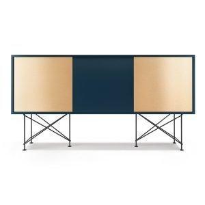 Decotique Vogue Sideboard Senkki 180h Tummansininen / 1db2b / Musta