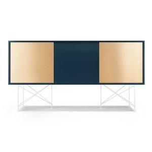 Decotique Vogue Sideboard Senkki 180h Tummansininen / 1db2b / Valkoinen