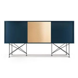 Decotique Vogue Sideboard Senkki 180h Tummansininen / 2db1b / Musta
