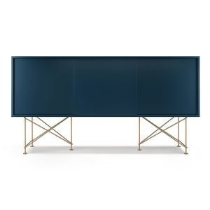 Decotique Vogue Sideboard Senkki 180h Tummansininen / 3db / Messinki