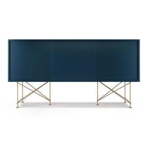Decotique Vogue Sideboard Senkki 180h Tummansininen / 3db / Messinki