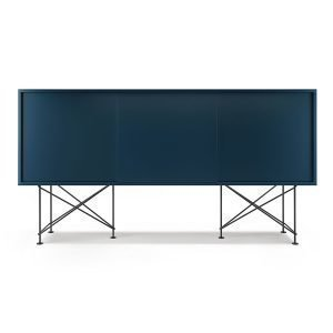 Decotique Vogue Sideboard Senkki 180h Tummansininen / 3db / Musta