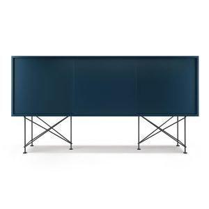 Decotique Vogue Sideboard Senkki 180h Tummansininen / 3db / Musta