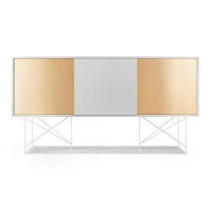 Decotique Vogue Sideboard Senkki 180h Valkoinen / 1w2b / Valkoinen