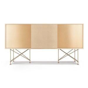 Decotique Vogue Sideboard Senkki 180h Valkoinen Tammi / 1wo2b / Messin