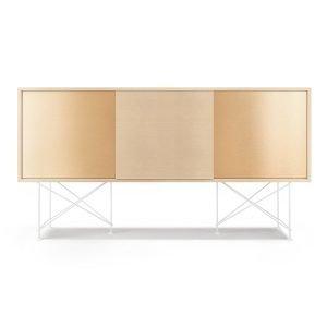 Decotique Vogue Sideboard Senkki 180h Valkoinen Tammi / 1wo2b / Valkoi