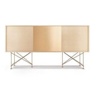 Decotique Vogue Sideboard Senkki 180h Valkoinen Tammi / 2wo1b / Messin