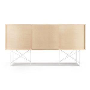 Decotique Vogue Sideboard Senkki 180h Valkoinen Tammi / 3wo / Valkoinen