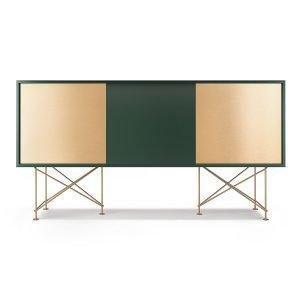 Decotique Vogue Sideboard Senkki 180h Vihreä / 1g2b / Messinki