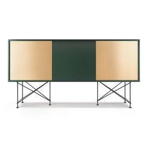 Decotique Vogue Sideboard Senkki 180h Vihreä / 1g2b / Musta