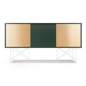 Decotique Vogue Sideboard Senkki 180h Vihreä / 1g2b / Valkoinen