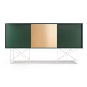 Decotique Vogue Sideboard Senkki 180h Vihreä / 2g1b / Valkoinen