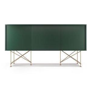 Decotique Vogue Sideboard Senkki 180h Vihreä / 3g / Messinki