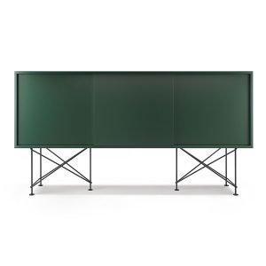 Decotique Vogue Sideboard Senkki 180h Vihreä / 3g / Musta