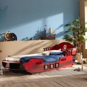 Demeyere Lastensänky Crazy Shark+Patja Inter Bonnel 90x190