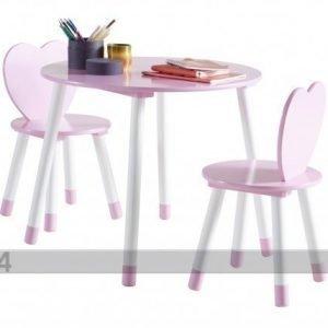 Demeyere Pöytä Ja 2 Tuolia Princess