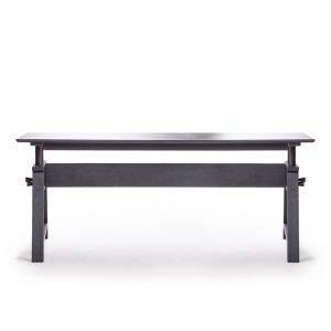 Department Astructure Pöytä Akaasia / Musta 180 Cm
