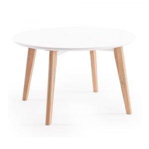 Department Look Sohvapöytä Valkoinen / Tammi 80 Cm