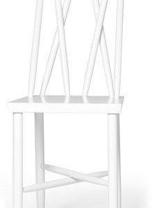 Design House Stockholm Family tuoli nro 1 valkoinen