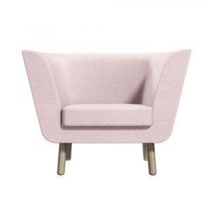 Design House Stockholm Nest Nojatuoli Vaaleanpunainen