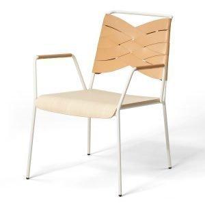 Design House Stockholm Torso Lounge Tuoli Saarni / Luonnonväri