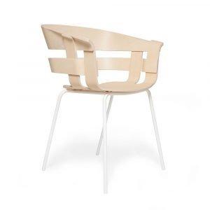 Design House Stockholm Wick Tuoli Saarni / Valkoinen