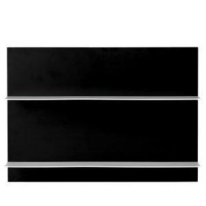 Design Letters Paper Shelf A3 Hylly Musta