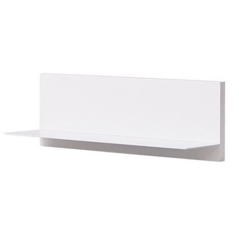 Design Letters Seinähylly Yhdellä Tasolla Valkoinen