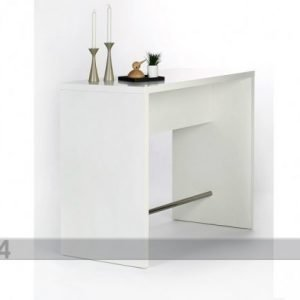 Designa Baaripöytä 120x60 Cm Valkoinen