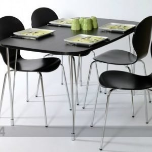Designa Sohvapöytä 138x80 Cm Musta