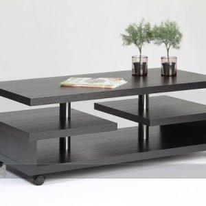 Designa Sohvapöytä Pyörillä 120x60 Cm