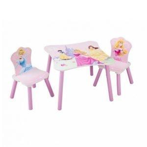 Disney Prinsessat Pöytä Ja Tuolit