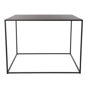 Domo Design Domo High Square Ruokapöytä Musta 100x100x73 Cm