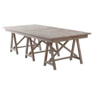Duved Ruokapöytä 110x250 Cm Ruskea